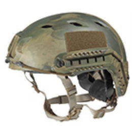 Lancer Tactical Airsoft Helmet ABS Plastic Base Jump Type - ATFG - M/L