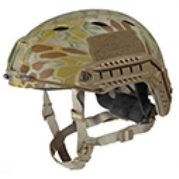 Lancer Tactical Airsoft Helmet ABS Plastic Base Jump Type - MAD - M/L