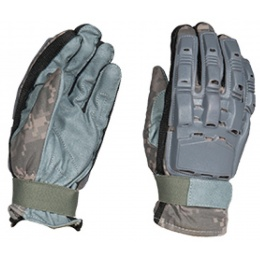 Paintball Full Finger Gloves - X SMALL - ACU