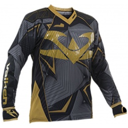 Valken Redemption Vexagon Tactical Jersey - BLACK/GOLD