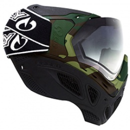 Valken Sly Profit Safety Gear Airsoft Goggles - Woodland