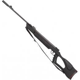 Valken .22 Caliber Mendoza Black Hawk Air Rifle w/ Sling - BLACK