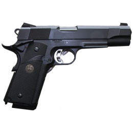 KJW M1911 KP-07 CO2 Air Pistol Semi Auto Full Metal - BLACK