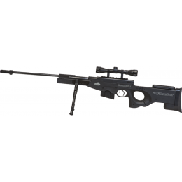 Valken .177 Caliber Infiltrator Air Rifle w/ Scope, Bipod - BLACK