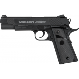 Valken Outdoor M1911 Air Pistol CO2 Blowback - BLACK