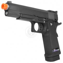 WE Hi Capa 5.1 Full Metal 1911 ACP Gas Blowback Pistol w/ Railed Frame