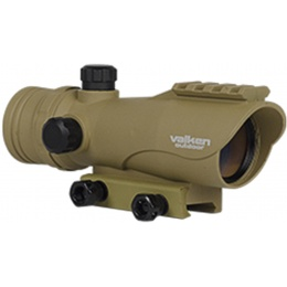 Valken Airsoft V Tactical 30mm Reflex Red Dot Sight - TAN