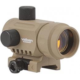 Valken Airsoft V Tactical 20mm Reflex Red Dot Sight - TAN