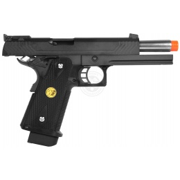 WE Hi Capa 5.1 M Full Metal 1911 GBB Airsoft Gas Blowback Pistol