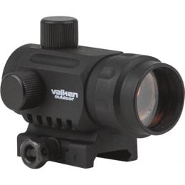 Valken Airsoft V Tactical 20mm Reflex Mini Red Dot Sight - BLACK