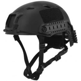 Lancer Tactical Airsoft Helmet ACH Base Jump Type - L/XL - BLACK