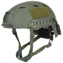 Lancer Tactical Airsoft Helmet ACH Base Jump Type - L/XL - OD GREEN