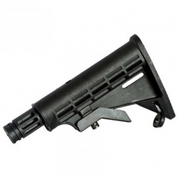 Valken V-TAC SW-1 External Paintball Marker Stock - BLACK