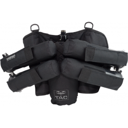 Valken V-TAC Harness Redemption Vest Pouch (4+1) - BLACK