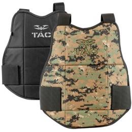 Valken V-Tac Reversible Chest Protector Pads - MARPAT/BLACK