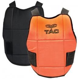 Valken V-Tac Reversible Chest Protector Pads - NEON ORANGE/BLACK