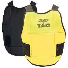 Valken V-Tac Reversible Chest Protector Pads - NEON YELLOW/BLACK
