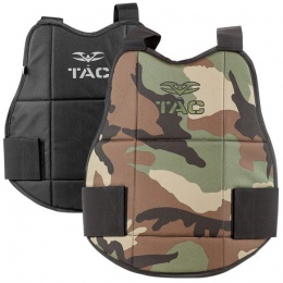 Valken V-Tac Reversible Chest Protector Pads - WOODLAND/BLACK