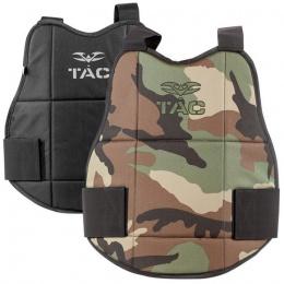 Valken V-Tac Reversible Chest Protector Pads - WOODLAND/BLACK