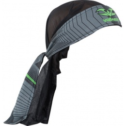 Valken Redemption Vexagon Tactical Headwrap - NEON GREEN/GREY
