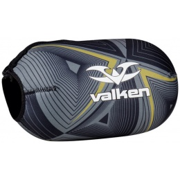 Valken Redemption Vexagon Tank Cover  w/Capacity 45ci - BLACK/GOLD