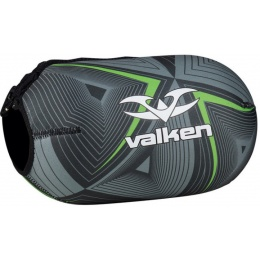 Valken Redemption Vexagon Tank Cover w/Capacity 45ci - NEON GREEN/GREY