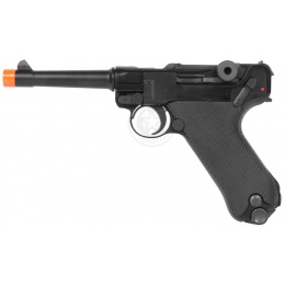 WE Full Metal Airsoft Luger P08 Pistol WWII - 4