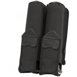 Valken V-TAC Tactical Gear Vest 2-Pod Pouch - BLACK