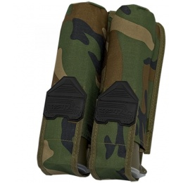 Valken V-TAC Tactical Gear Vest 2-Pod Pouch - WOODLAND