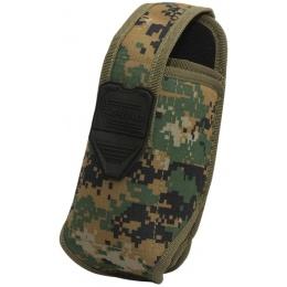 Valken V-TAC Tactical Gear Stacked 2-Mag Pouch - MARPAT
