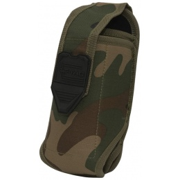 Valken V-TAC Tactical Gear Stacked 2-Mag Pouch - WOODLAND