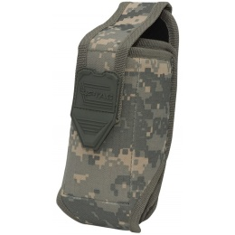 Valken V-TAC Tactical Gear Stacked 2-Mag Pouch - ACU