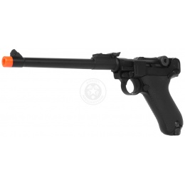 WE Full Metal Airsoft Luger P08 Pistol WWII - 8