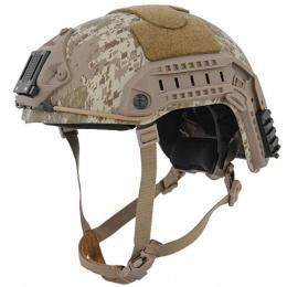 Lancer Tactical Maritime ABS Tactical Gear Helmet - DESERT DIGITAL - M/L