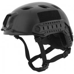Lancer Tactical ACH Base Jump Tactical Gear Helmet - BLACK - M/L