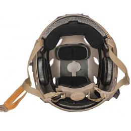 Lancer Tactical ACH Base Jump Tactical Gear Helmet - TAN - L/XL