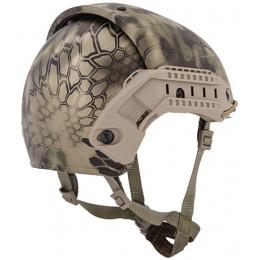 Lancer Tactical Airsoft CP AF Helmet w/ Side Rails - HLD- M/L