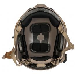 Lancer Tactical Ballistic High Cut XP Tactical Gear Helmet - DE - L/XL