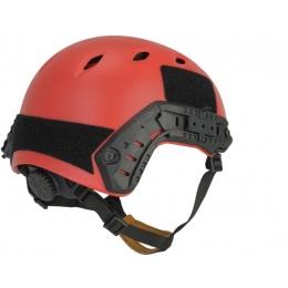 Lancer Tactical ACH Base Jump Helmet - Red - L/XL