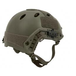 Lancer Tactical FAST PJ Ballistic Type Tactical Gear Helmet - FG - L/XL