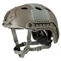 Lancer Tactical FAST PJ Ballistic Type Tactical Gear Helmet - FG - M/L