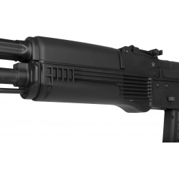 KWA Airsoft AKR-74M AEG Electic Recoil ERG EBB Assault Rifle - BLACK