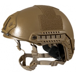 Lancer Tactical FAST MH Ballistic Airsoft Helmet - M/L - DARK EARTH