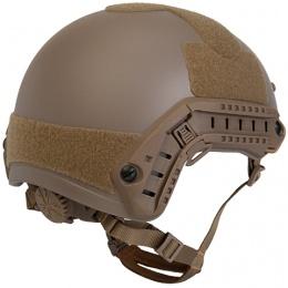 Lancer Tactical MH Ballistic Type Tactical Gear Helmet - TAN - L/XL