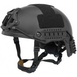 Lancer Tactical CA-836B Airsoft Gear Helmet - L/XL - BLACK