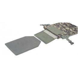 Lancer Tactical Speed Attack Airsoft Plate Carrier Vest - ACU