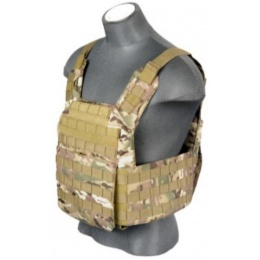 Lancer Tactical Speed Assault Airsoft Vest - Camo