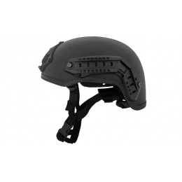 Lancer Tactical Airsoft GUN Mich 2001 NVG Safety Helmet - BLACK