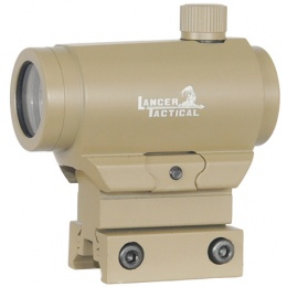 Lancer Tactical Mini 20mm Red/ Green Dot Sight - TAN