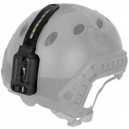 Lancer Tactical 3-Function Tactical Gear LED Helmet Light - Black